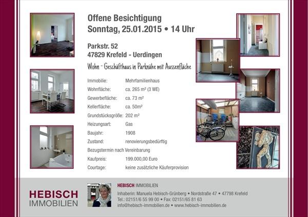 Open House Immobilien Besichtigung in Krefeld-Uerdingen 002