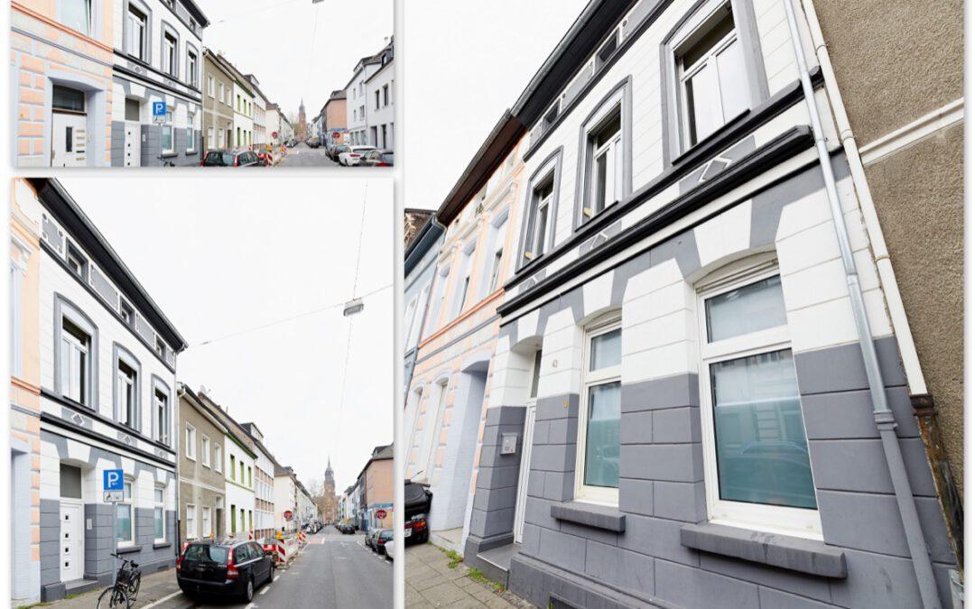 + Neu zum Verkauf: Stadthaus mit vielen Möglichkeiten +